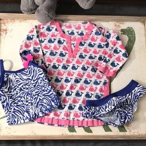 💐 3/$25 Bathing Suit Coverup Lot Pottery Barn 9m